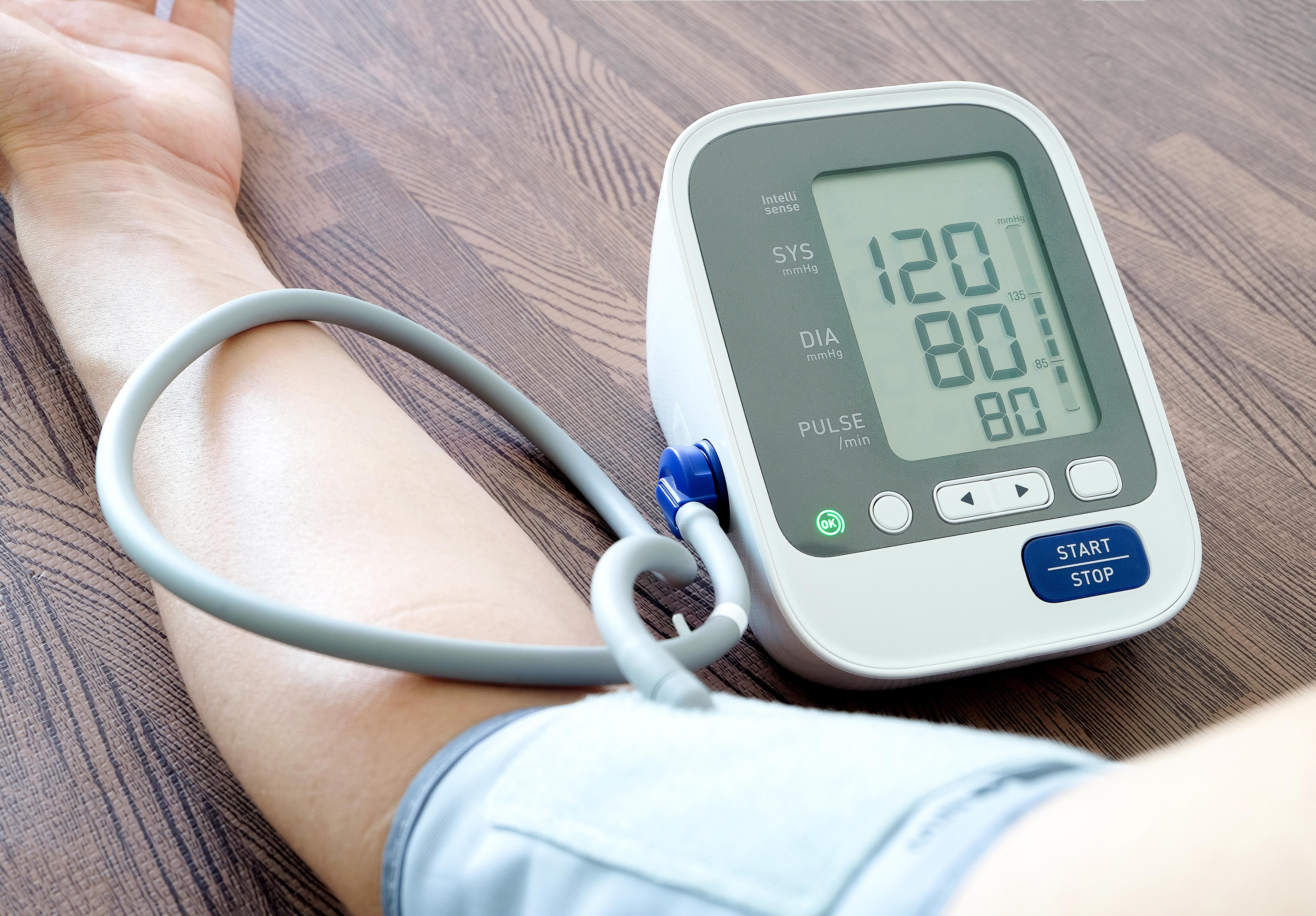 blodtryksmåling værdier