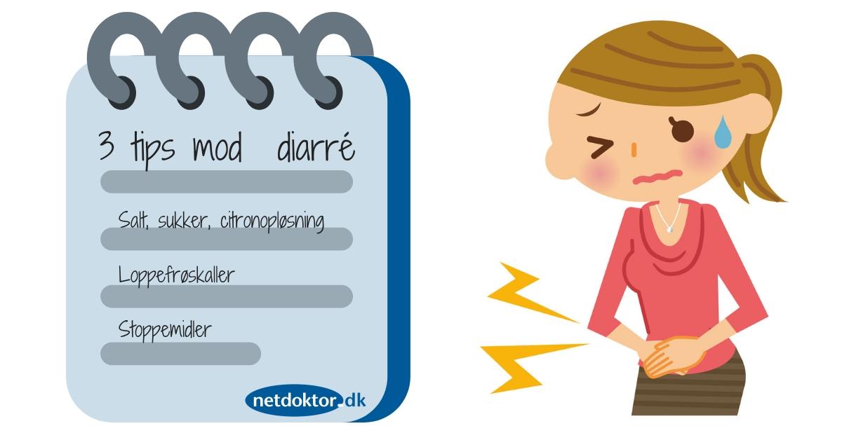 godt mod diarre